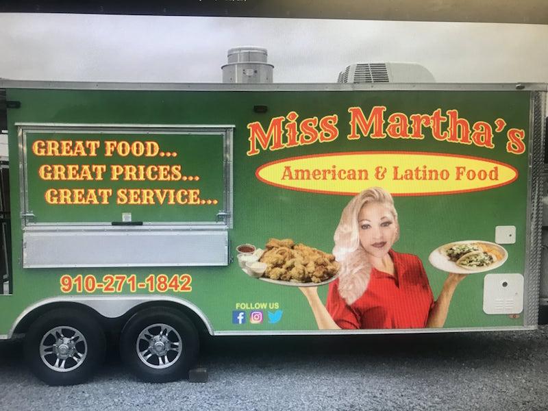 miss martha's american and latino food trailer